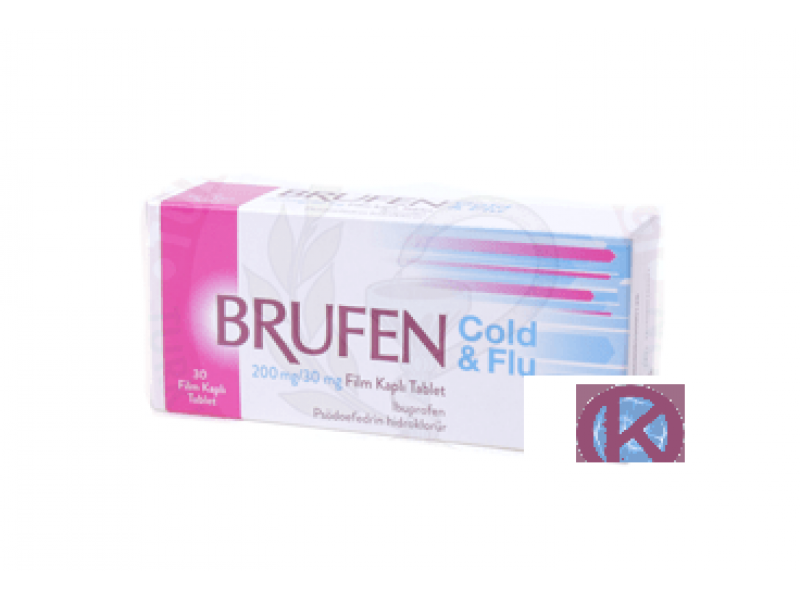 BRUFEN COLD & FLU 200 MG / 30 MG